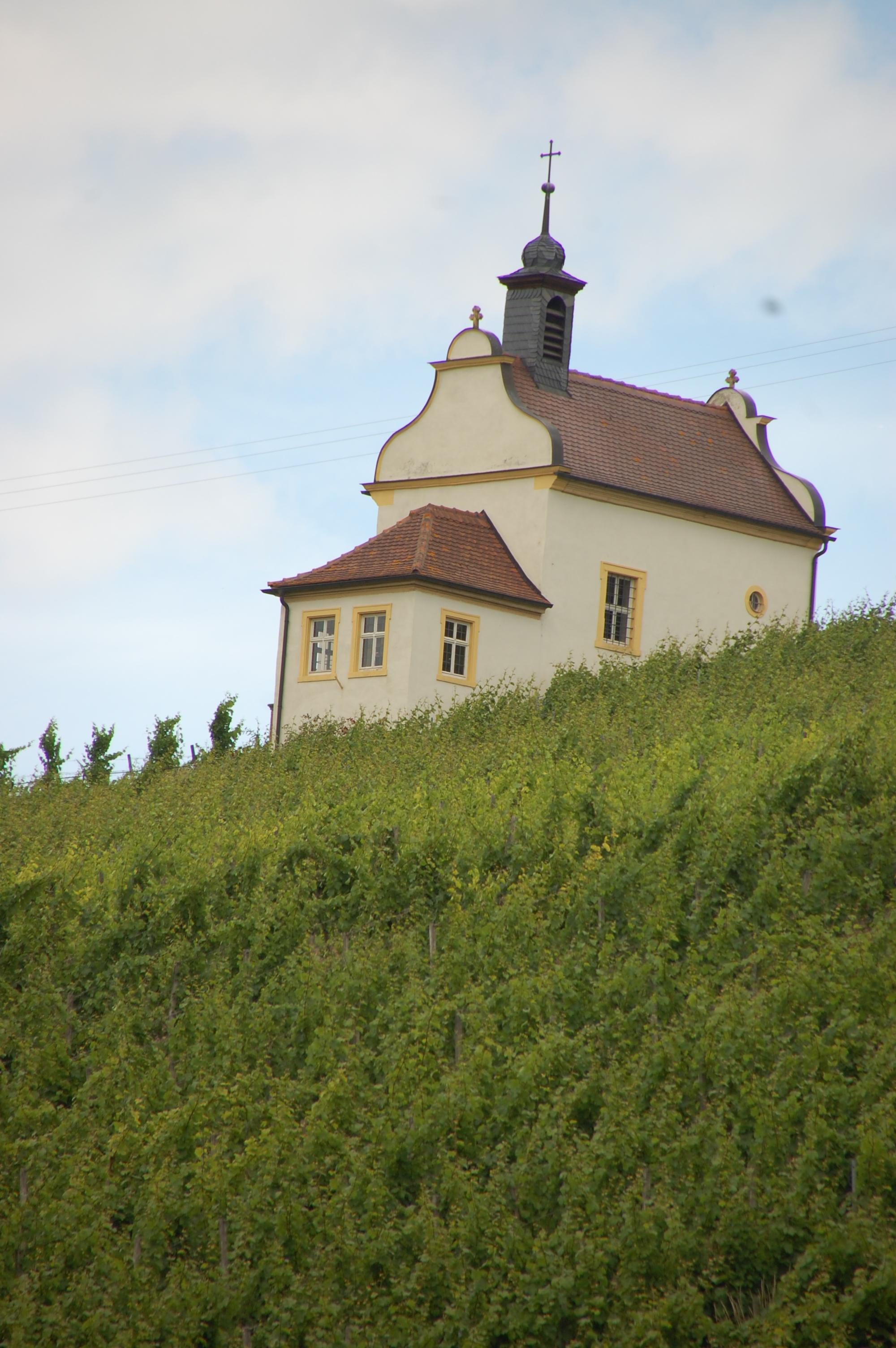 Frickenhausen Kapelle im Kapellenberg